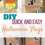 halloween flag pinterest