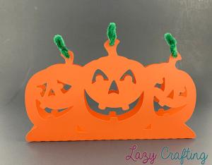 halloween pumpkin table stand