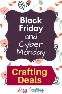 Black Friday and Cyber Monday pin