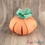 pumpkin green bow