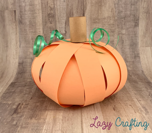 pumpkin curling ribbon