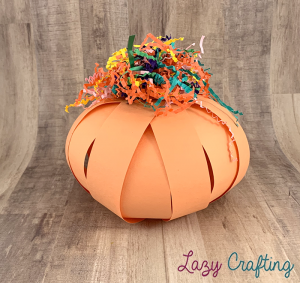 pumpkin messy bow
