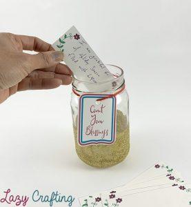 using a gratitude jar