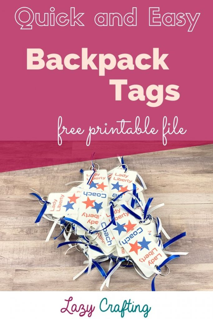 bags tags for group