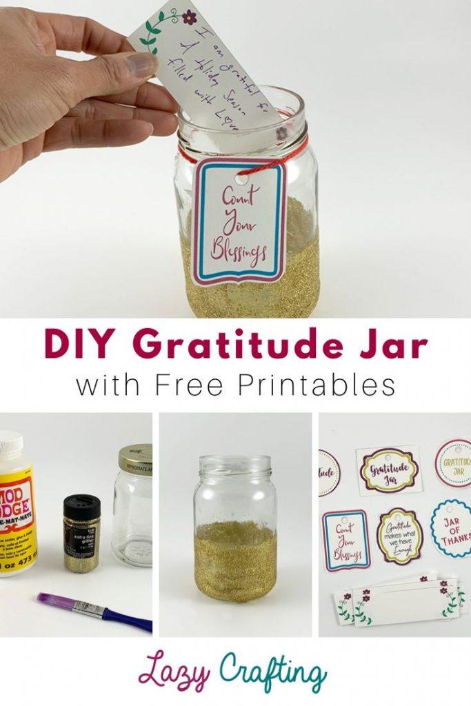 DIY Easy Gratitude Jar