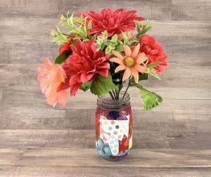 Flower jar vase