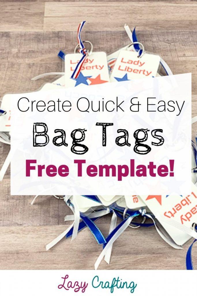 bag tags for group