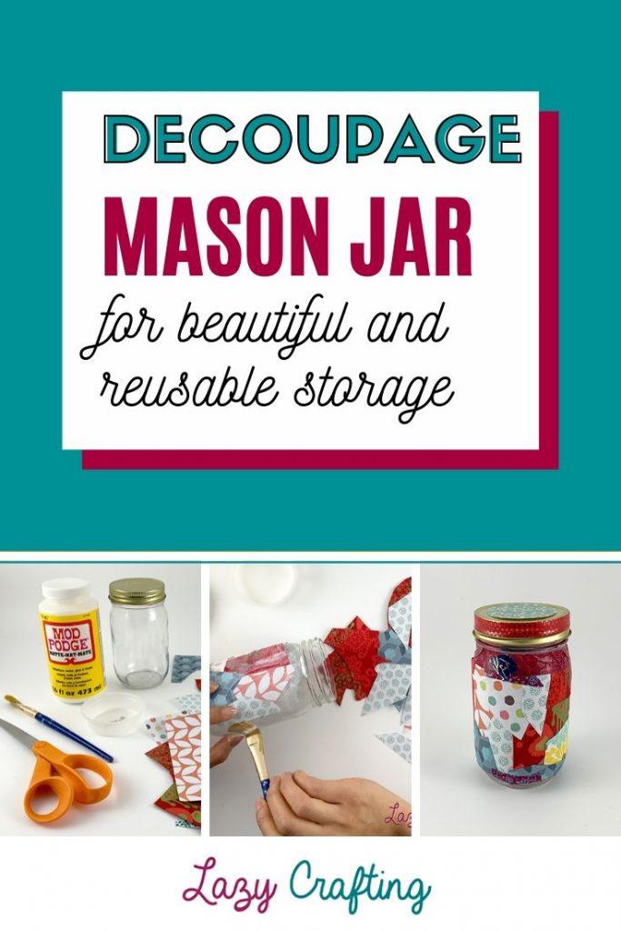 Mason Storage Jar