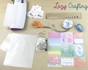 supplies for bag tags