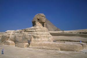 egyptian sphinx statue