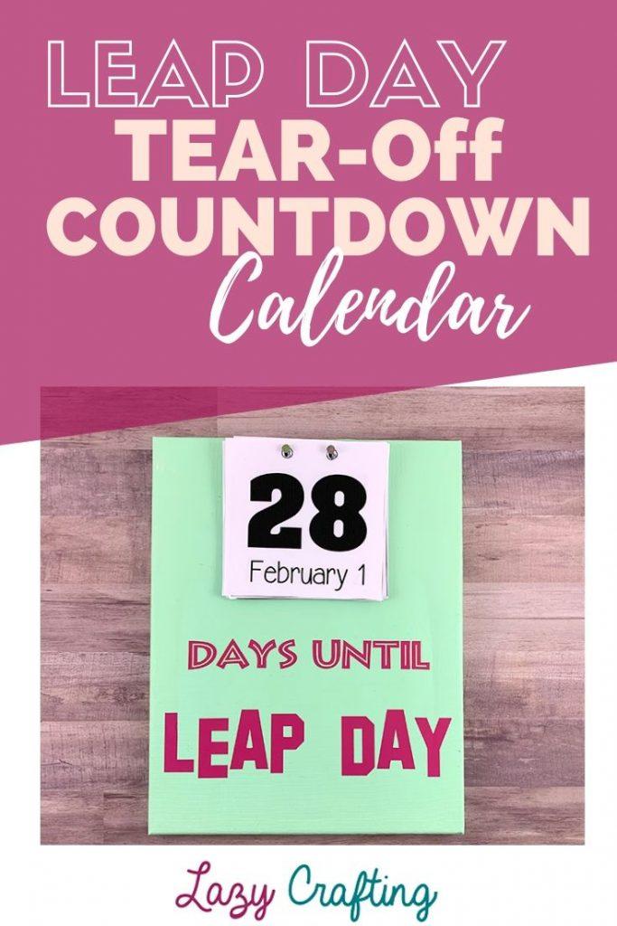 Leap Day Countdown Calendar