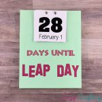 leap day countdown calendar
