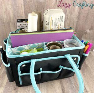 portable craft organizer bag
