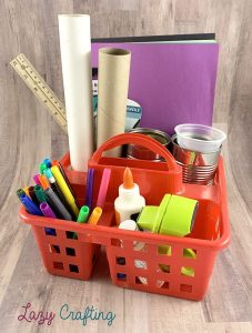 portable craft organizer tote