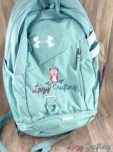 portable craft organizer backpack