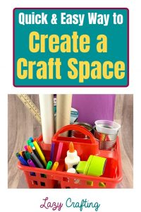 Craft Space pin