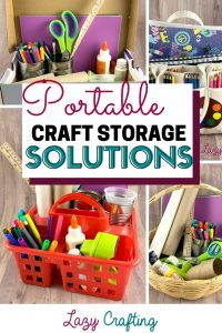 portable craft storage solutions