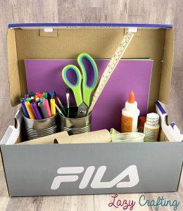 shoebox organizer