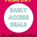 early access amazon prime day