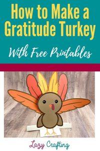 Gratitude Turkey Craft