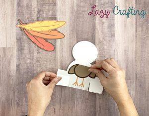 Gratitude Turkey Craft finishing