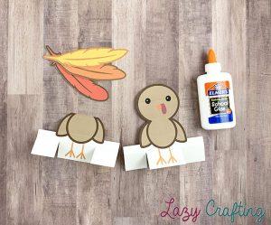 Gratitude Turkey Craft pieces