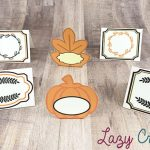 more thanksgiving place cards