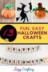 13 halloween crafts