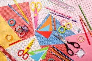 paper and scissors for crafts