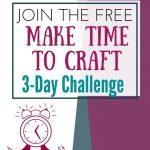 make time to craft challenge