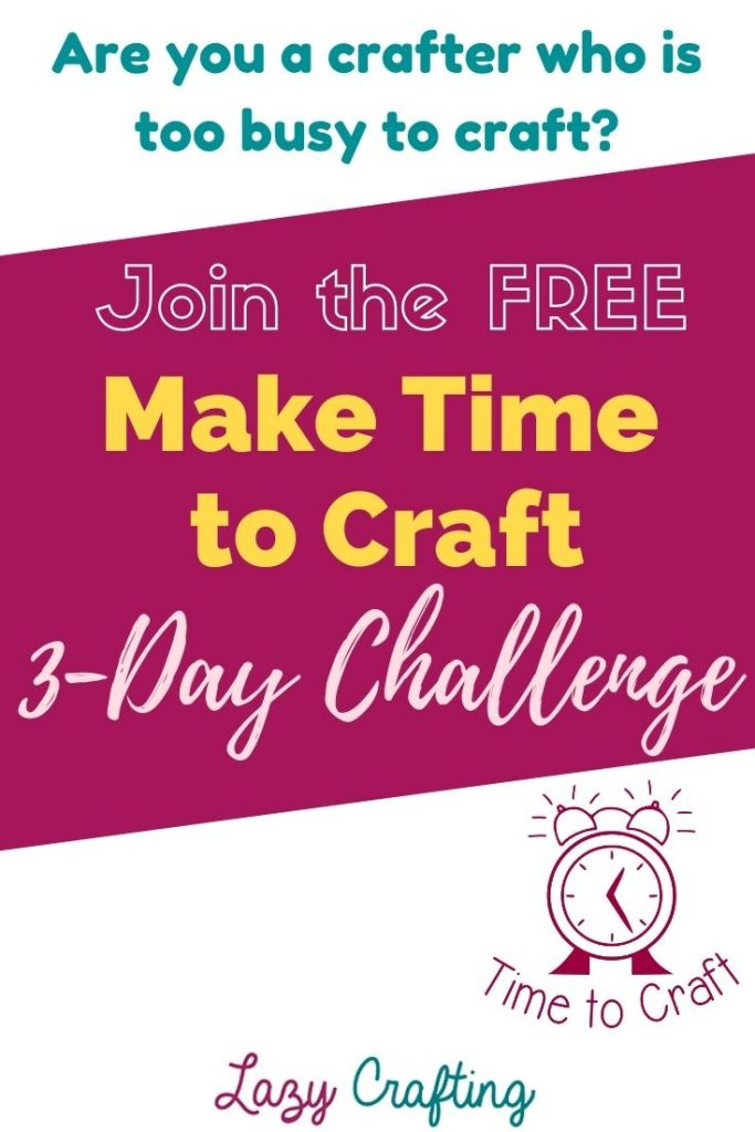 make time to craft challenge
